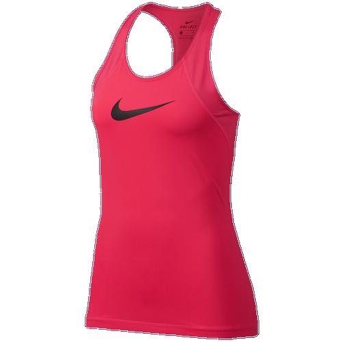 Nike Pro Mesh Tank - Women's Training - Racer Pink/Black 89542617