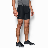 "Under Armour HG Armour 2.0 6"" Compression Shorts - Men's - Black / Grey"