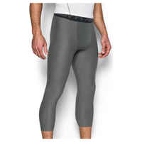 Under Armour HG Armour 2.0 3/4 Compression Tights - Men's - Grey / Black