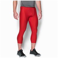 Under Armour HG Armour 2.0 3/4 Compression Tights - Men's - Red / Grey