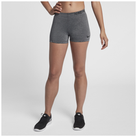 "Nike Pro 3"" Compression Shorts - Women's - Grey / Black"