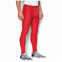 Under Armour HG Armour 2.0 Compression Tights - Men's - Red / Grey