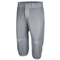Majestic Cool Base HD Throwback Pants - Men's - Grey / Grey