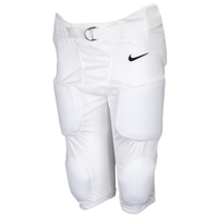 Nike Team Recruit Integrated Pants - Boys' Grade School - All White / White