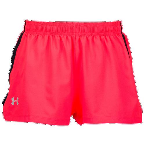 Under Armour Launch Stretch Woven Split Shorts - Men's Running - Marathon Red/Black/Reflective 89750963
