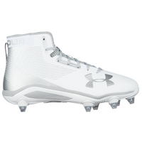 Under Armour Hammer D - Men's - White / Silver