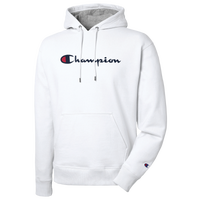 Champion Powerblend P/O Hoodie - Men's - White