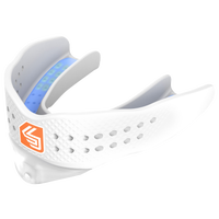 Shock Doctor Superfit All Sport Convertible Mouthguard - Grade School - All White / White