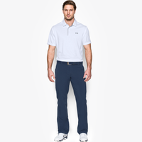 Under Armour Tech Golf Polo - Men's - White / Grey
