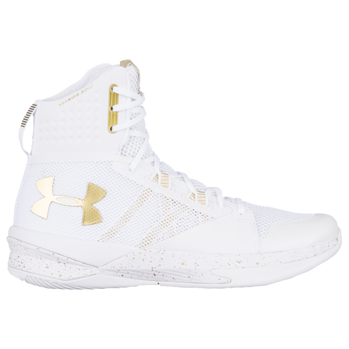 under armour volleyball shoes. under armour highlight ace - women\u0027s volleyball shoes white/metallic gold