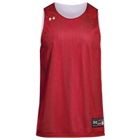 Under Armour Team Triple Double Jersey - Boys' Grade School - Red / White