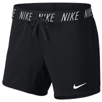 Nike Attack Shorts - Women's - Black / White