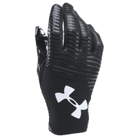 Under Armour Highlight Football Gloves - Men's - Black / White
