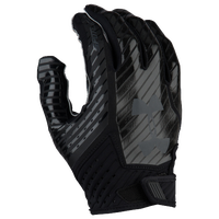 Under Armour Spotlight Football Gloves - Men's - Black / Grey