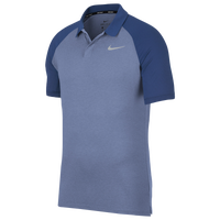 Nike Dri-Fit Raglan Golf Polo - Men's - Light Blue / Blue