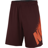 Nike Fly Shorts 4.0 - Men's - Maroon / Orange