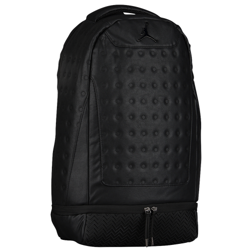 dd04fea0905d ... Jordan Retro 13 Backpack - All Black Black Nike Air Jordan Backpack  Black Gray Elephant School Book Bag Men Women Boys Girl ...