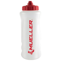 Mueller Quart Water Bottle With Sureshot Cap - White / Red