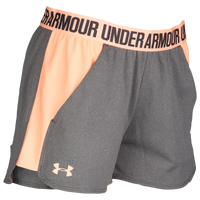 Under Armour Play Up Shorts 2.0 - Women's - Grey / Orange