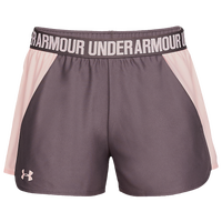 Under Armour Play Up Shorts 2.0 - Women's - Grey / Pink