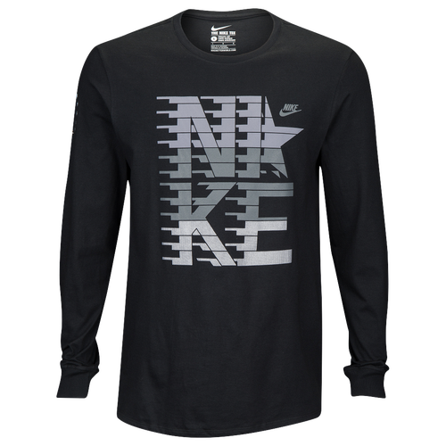 455fa36c0 good Nike Graphic Long Sleeve T-Shirt - Men's - Casual - Clothing - Black
