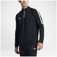 Nike Academy 1/2 Zip Top - Men's - Black / White