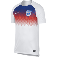 Nike Squad S/S Training Top - Men's - England - White / Blue