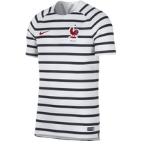 Nike Squad S/S Training Top - Men's - France - White / Navy