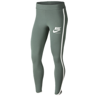 Nike Archive Piped Leggings - Women's - Green / White