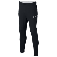 Nike Academy Knit Pants - Grade School - Black / White