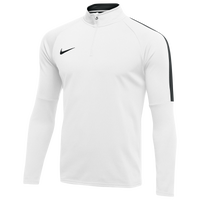 Nike Dry Academy 18 Drill L/S Top - Boys' Grade School - White / Black