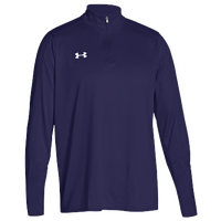 Under Armour Team Locker 1/4 Zip - Men's - Purple / Purple