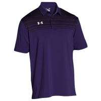 Under Armour Team Victor Polo - Men's - Purple / Purple