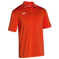 Under Armour Team Victor Polo - Men's - Orange / Orange