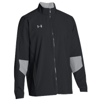Under Armour Team Squad Woven Warm Up Jacket - Men's - Black / Grey