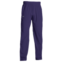 Under Armour Team Squad Woven Warm Up Pants - Men's - Purple / Purple