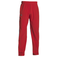 Under Armour Team Squad Woven Warm Up Pants - Men's - Red / Red