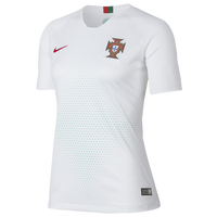 Nike Portugal Breathe Stadium Jersey - Women's - Portugal - White / Red