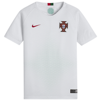 Nike Portugal Breathe Stadium Jersey - Grade School - Portugal - White / Red