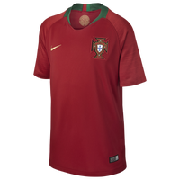 Nike Portugal Breathe Stadium Jersey - Grade School - Portugal - Red / Green