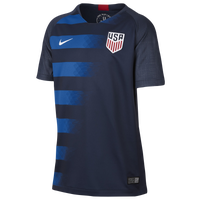 Nike USA Breathe Stadium Jersey - Grade School - USA - Navy / Blue