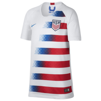 Nike USA Breathe Stadium Jersey - Grade School - USA - White / Red