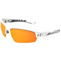 Under Armour Octane Sunglasses - White / Orange