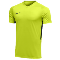 Nike Team Dry Tiempo Premier S/S Jersey - Men's - Light Green / Black