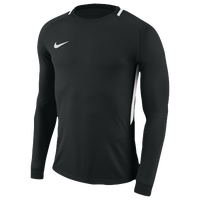 Nike Team L/S Park Goalie III Jersey - Men's - Black / White