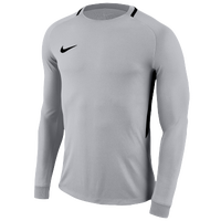 Nike Team L/S Park Goalie III Jersey - Men's - Grey / Black