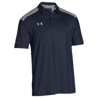 Under Armour Team Colorblock Polo - Men's - Navy / Grey