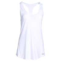 Under Armour Team Stadium Tank - Women's - All White / White
