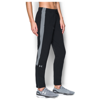 Under Armour Team Squad Woven Warm Up Pants - Women's - Black / Grey