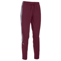 Under Armour Team Squad Woven Warm Up Pants - Women's - Maroon / Grey